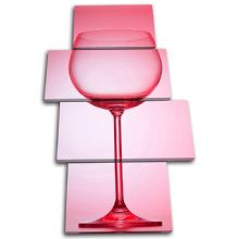 Wine Glass  Food Kitchen - 13-1678(00B)-MP04-PO